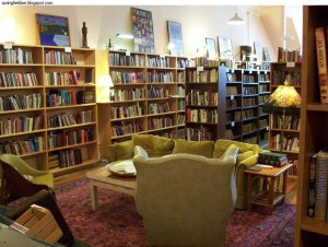 This is the sort of thing I'm talking about! (Picture of the Open Book store by Trint Williams)